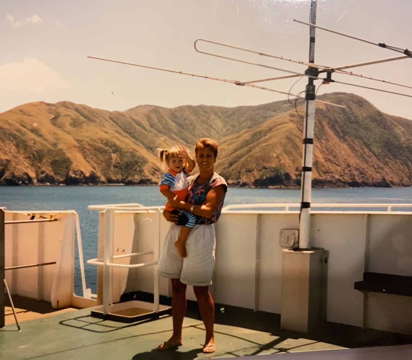 Old photo from The Interislander