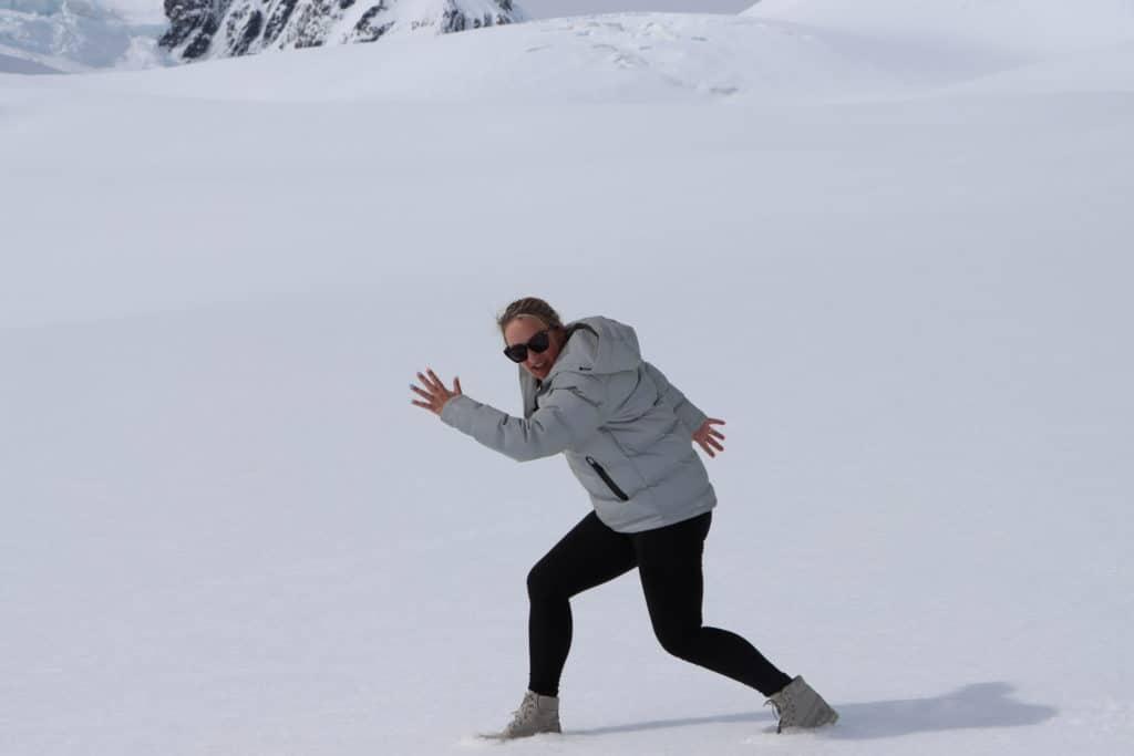 Brodie Kane Tasman Glacier